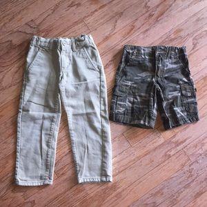 4T boy pants & shorts